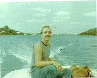 AW2 John Perkins SS1 CAC 9(pigs in space) and Andrew Sisk crusin the bay Bermuda. 1983